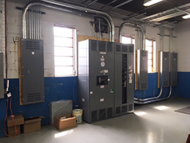 Square D switchgear and distribution panels